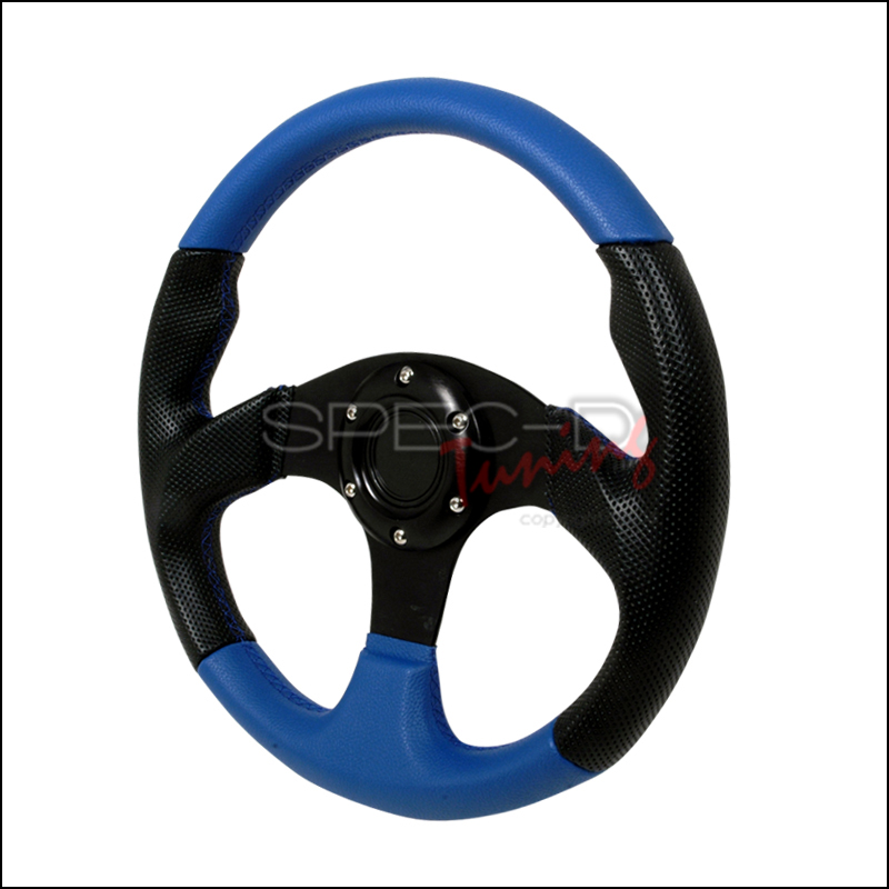 Type 2 320mm Steering Wheel - (black/Blue)