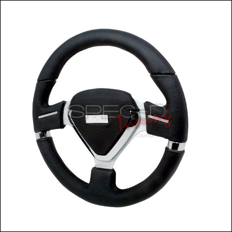 Evo 330mm Steering Wheel - (black Leather)