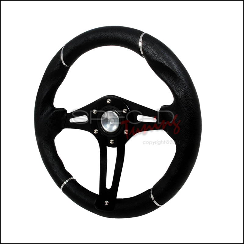 Technic 3  320mm Steering Wheel - (black)