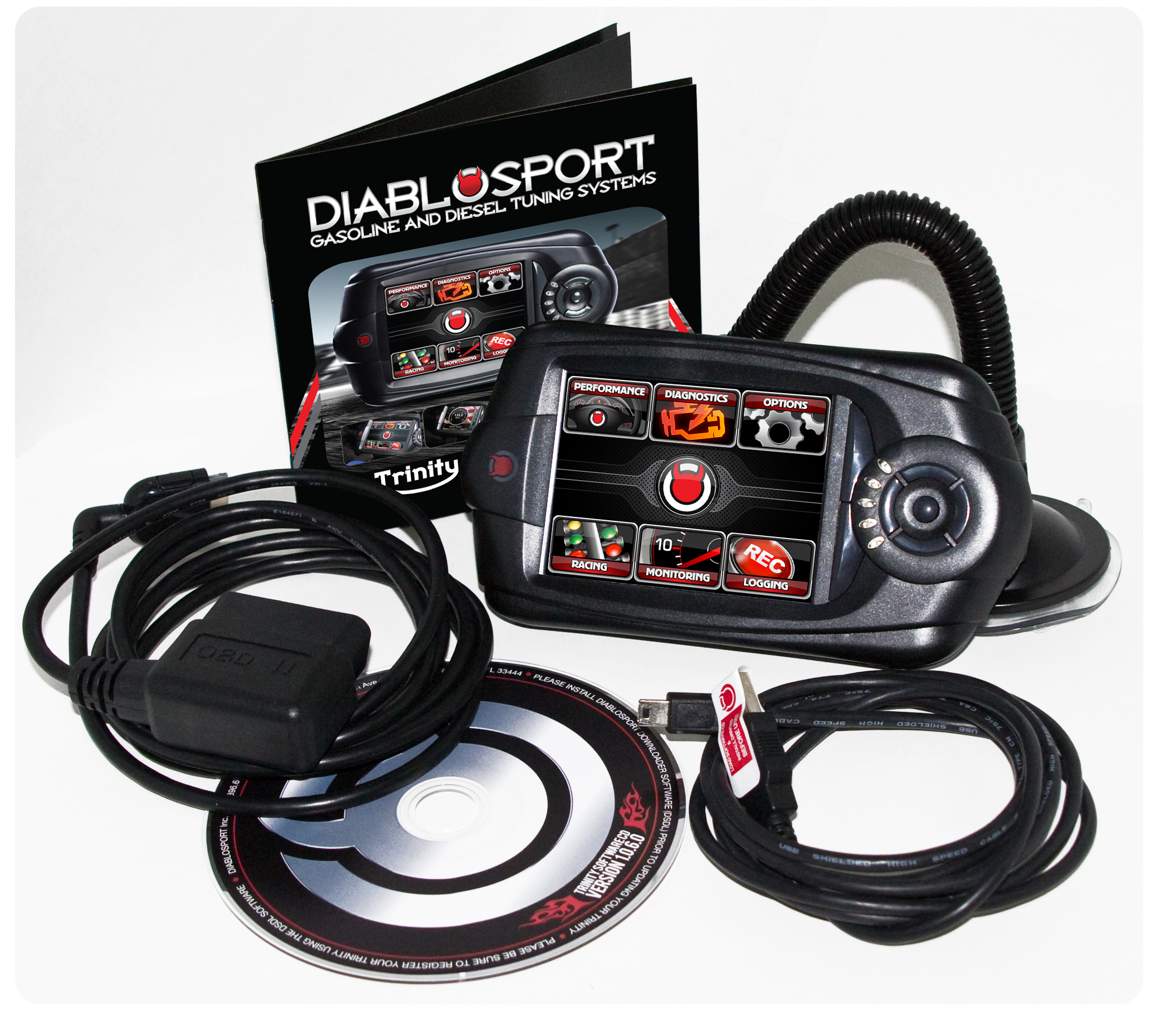 Gmc Sierra 2007-2012  8.1l Diablosport T1000 Trinity Performance Tuner