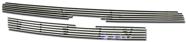 Toyota Sequoia  2005-2007 Polished Main Upper Stainless Steel Billet Grille