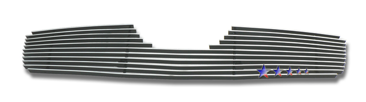 Toyota Yaris  2006-2008 Polished Main Upper Aluminum Billet Grille