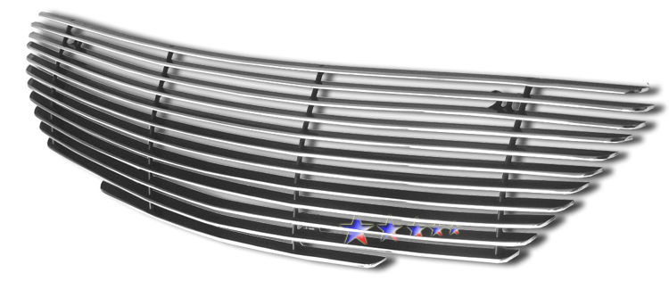 Lexus Gs 300  2006-2006 Polished Main Upper Aluminum Billet Grille