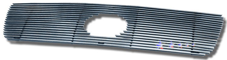 Toyota Tundra  2007-2009 Polished Main Upper Stainless Steel Billet Grille