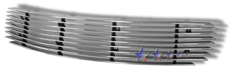 Scion XA  2003-2007 Polished Lower Bumper Aluminum Billet Grille