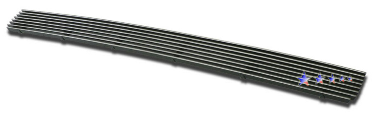 Toyota Tacoma  2005-2011 Polished Lower Bumper Aluminum Billet Grille