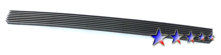 Toyota Tacoma  2005-2011 Black Powder Coated Lower Bumper Black Aluminum Billet Grille