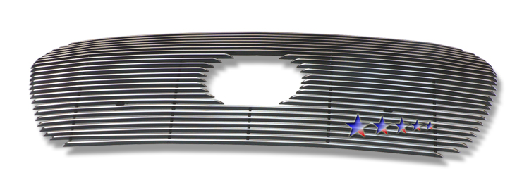 Toyota Land Cruiser  2008-2009 Polished Main Upper Aluminum Billet Grille