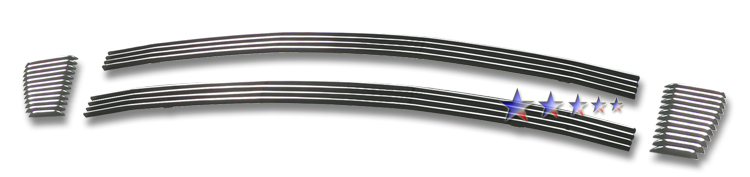 Scion XD  2007-2012 Polished Lower Bumper Aluminum Billet Grille