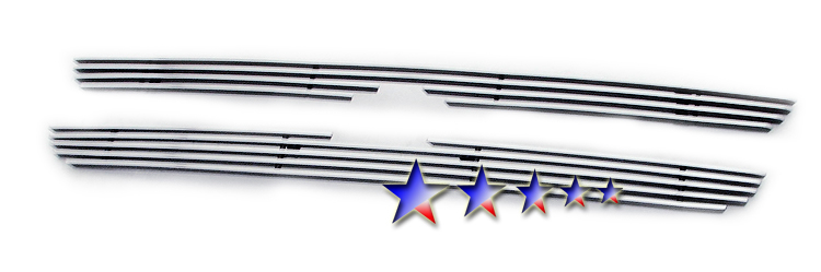 Toyota Tacoma 2wd 1998-2000 Polished Main Upper Aluminum Billet Grille
