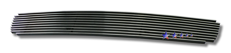 Toyota Yaris  2006-2008 Polished Lower Bumper Aluminum Billet Grille