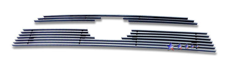 Toyota 4Runner  2010-2012 Polished Main Upper Aluminum Billet Grille
