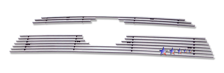 Toyota 4Runner  2010-2012 Polished Main Upper Stainless Steel Billet Grille