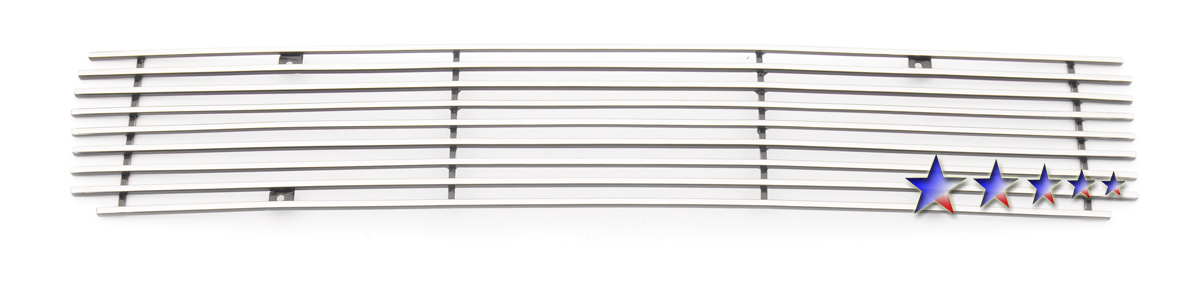 Toyota 4Runner  2010-2012 Polished Lower Bumper Stainless Steel Billet Grille