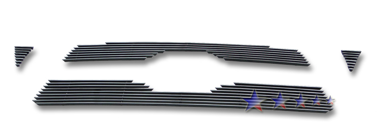 Toyota Tacoma  2011-2011 Polished Main Upper Aluminum Billet Grille