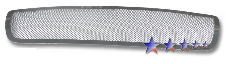 Toyota Tundra  2007-2009 Black Powder Coated Main Upper Black Wire Mesh Grille