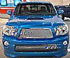 2010 Toyota Tacoma   Black Powder Coated Main Upper Black Wire Mesh Grille