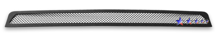 Toyota Tacoma  2005-2011 Black Powder Coated Lower Bumper Black Wire Mesh Grille