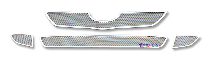 Toyota Tundra 07-09 Wire Mesh: Chrome,Fr Stainless Steel Lower Front Grill