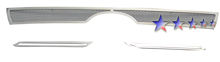 Toyota 4Runner  2010-2012 Chrome Main Upper Mesh Grille