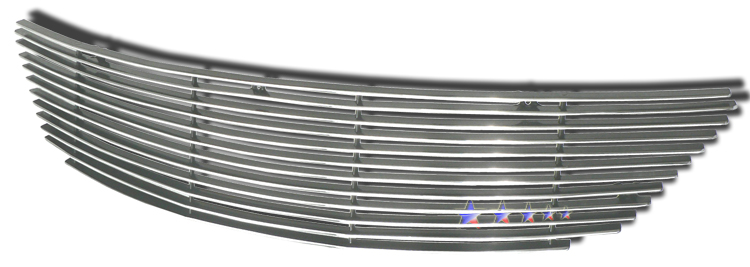Toyota Camry  2002-2006 Polished Main Upper Aluminum Billet Grille
