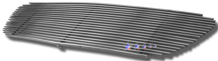 Toyota Corolla  2005-2008 Polished Main Upper Aluminum Billet Grille