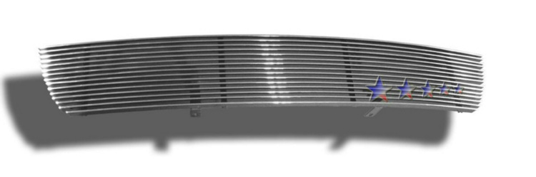 Toyota Corolla  2005-2008 Polished Lower Bumper Aluminum Billet Grille