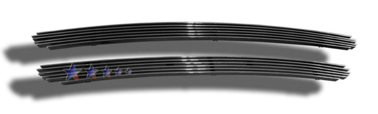 Toyota Corolla  2003-2004 Polished Lower Bumper Aluminum Billet Grille