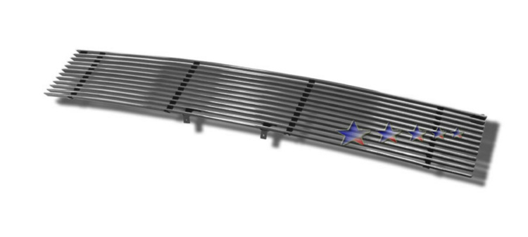 Toyota Sequoia  2001-2004 Polished Main Upper Aluminum Billet Grille
