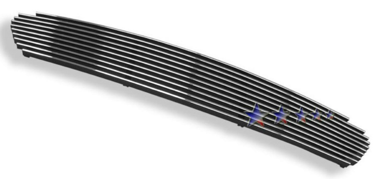Toyota Matrix  2003-2008 Polished Main Upper Aluminum Billet Grille