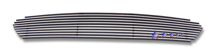 Toyota Matrix  2003-2008 Polished Main Upper Stainless Steel Billet Grille