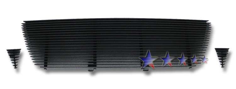 Toyota Tacoma  2005-2010 Black Powder Coated Main Upper Black Aluminum Billet Grille
