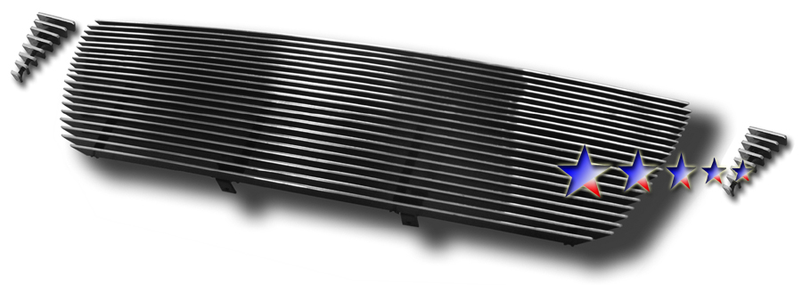 Toyota Tacoma  2005-2010 Polished Main Upper Stainless Steel Billet Grille