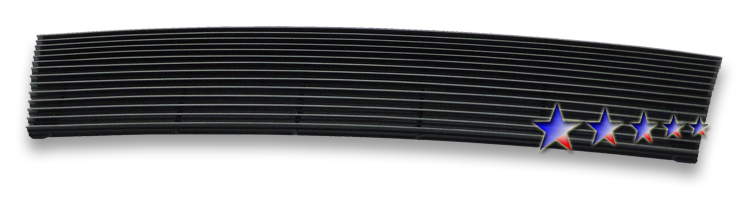 Toyota Tacoma  1998-2000 Black Powder Coated Main Upper Black Aluminum Billet Grille