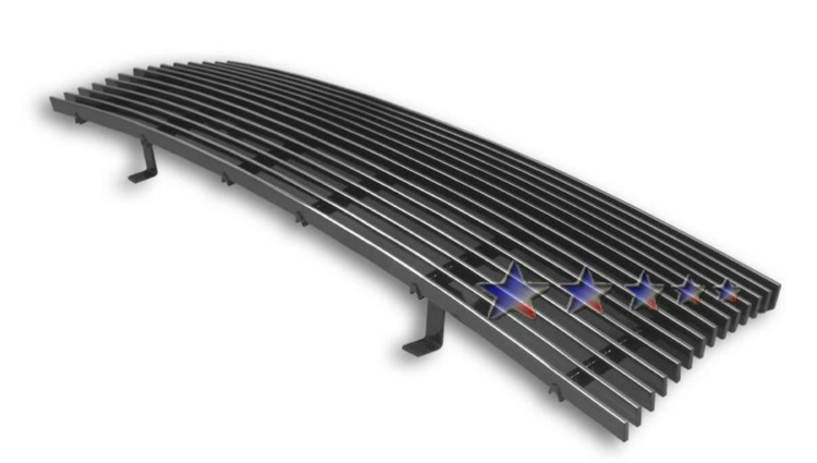 Toyota Tacoma  1998-2000 Polished Main Upper Aluminum Billet Grille