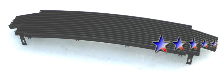 Toyota Tacoma  2001-2004 Black Powder Coated Main Upper Black Aluminum Billet Grille