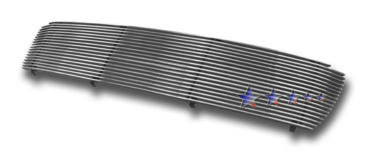 Toyota Tundra  1999-2002 Polished Main Upper Aluminum Billet Grille