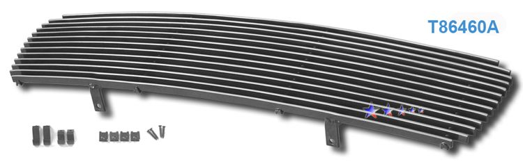 Toyota RAV4  2006-2008 Polished Main Upper Stainless Steel Billet Grille