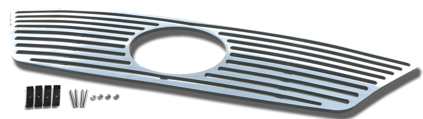 Lexus IS350  2006-2008 Polished Main Upper Perimeter Grille