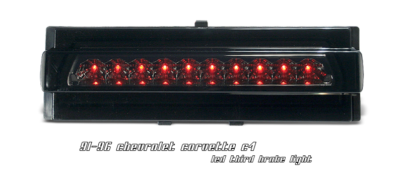 Chevrolet Corvette 1991-1996 C4 Smoke LED 3rd Brake Light