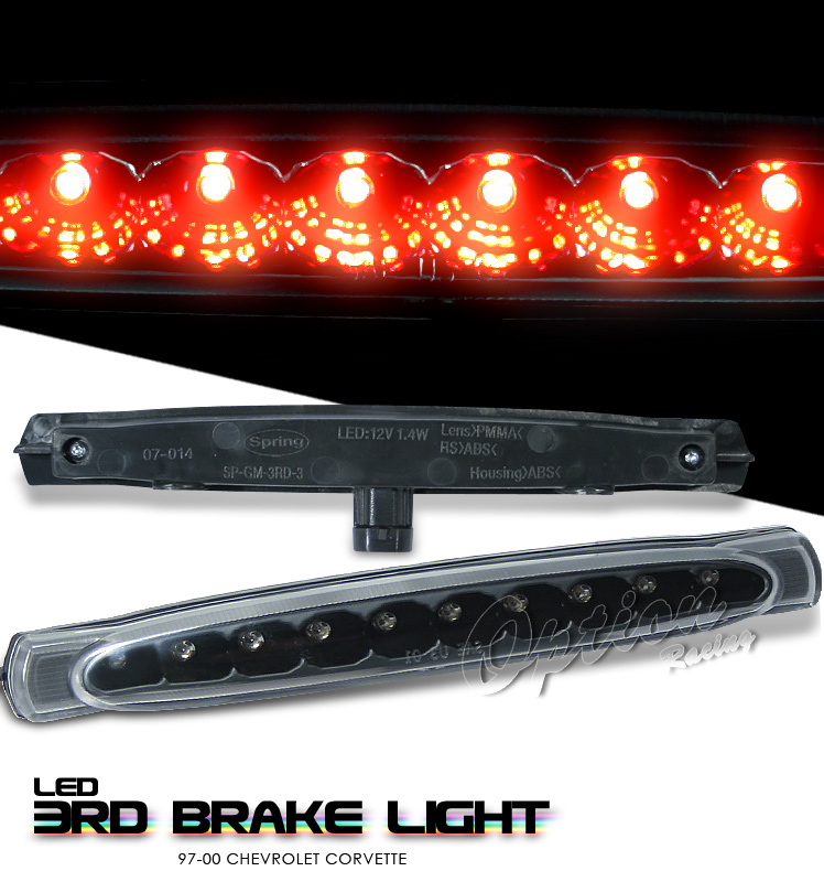 Chevrolet Corvette 1997-2000 C5 Black LED 3rd Brake Light
