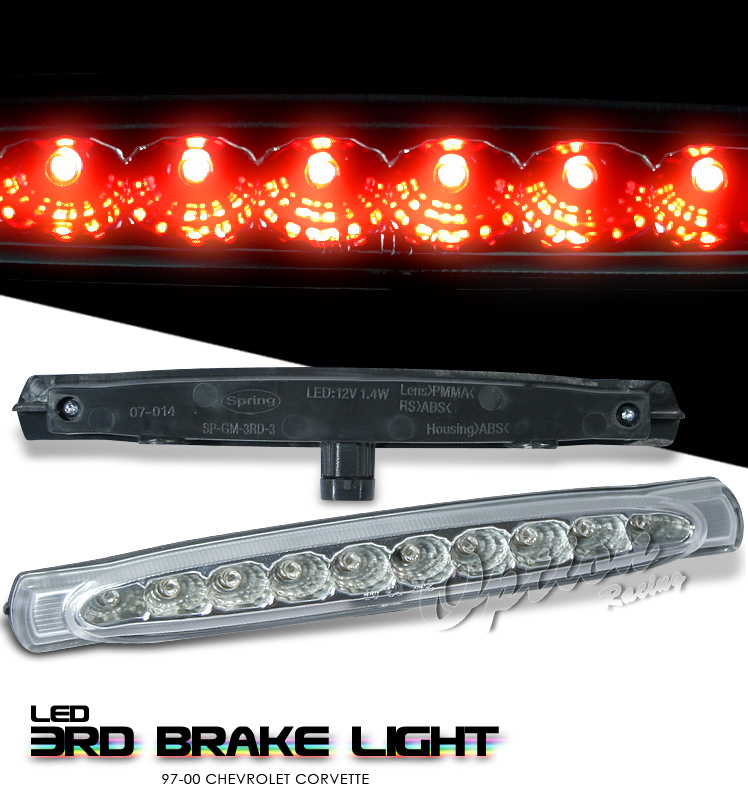 Chevrolet Corvette 1997-2000 C5 Chrome LED 3rd Brake Light