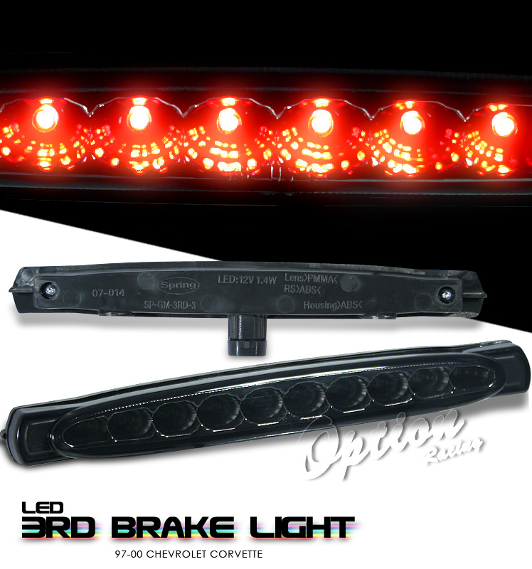 Chevrolet Corvette 1997-2000 C5 Smoke LED 3rd Brake Light