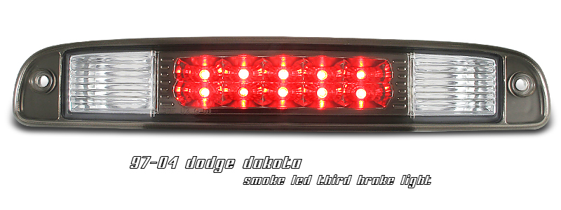 Dodge Dakota 1997-2004  Smoke LED 3rd Brake Light