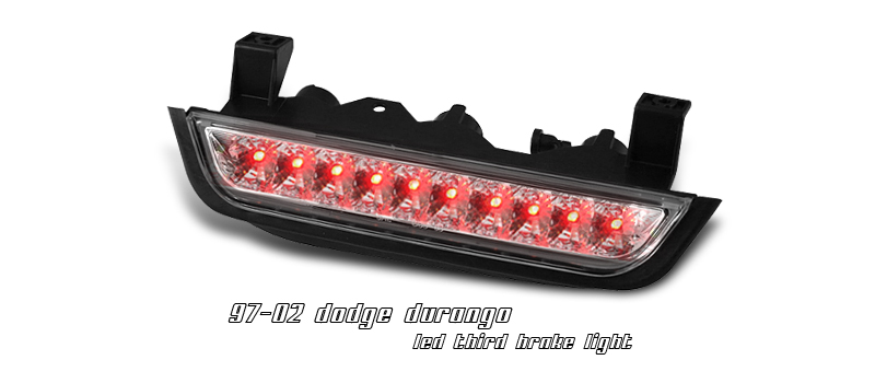 Dodge Durango 1997-2003  Chrome LED 3rd Brake Light