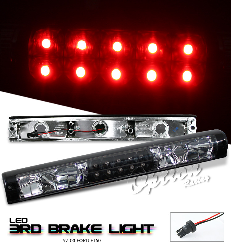 Ford F150 1997-2003  Black LED 3rd Brake Light