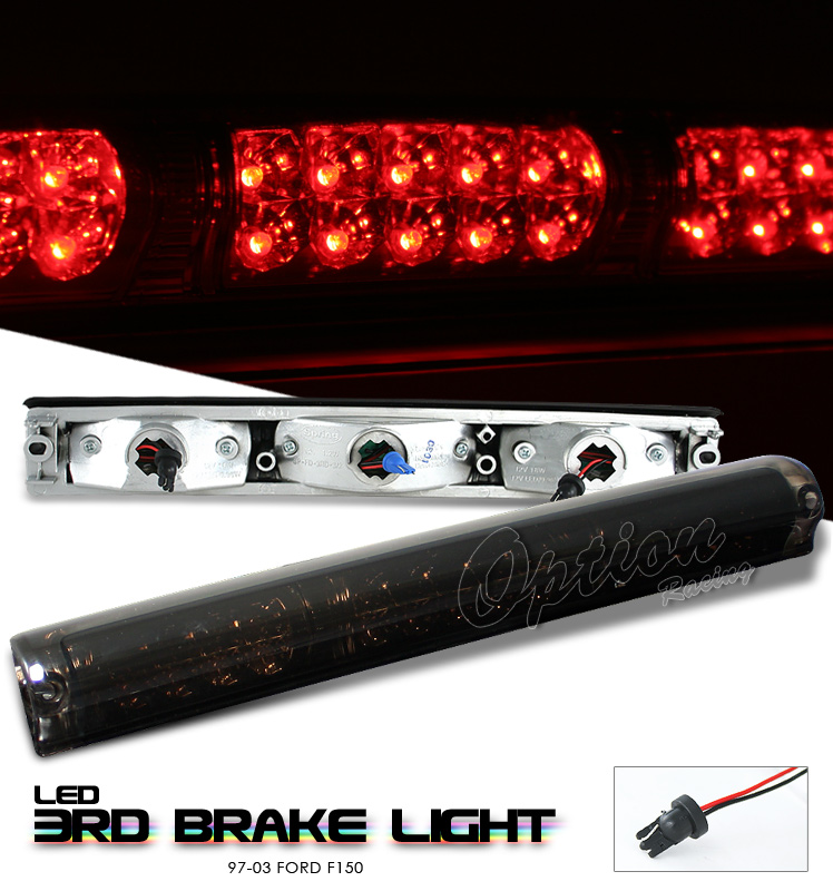 Ford F150 1997-2003  Smoke W/ Cargo Light LED 3rd Brake Light