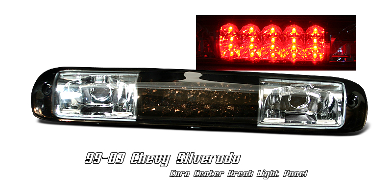 Chevrolet Silverado 1999-2005 Smoke LED 3rd Brake Light