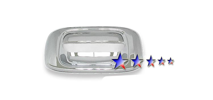 1999-2006  Chevrolet Silverado  Chrome Tailgate Handle Trim