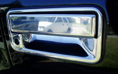 Gmc Full Size Pickup 1988-1998 Chrome Tail Gate Handle Cover